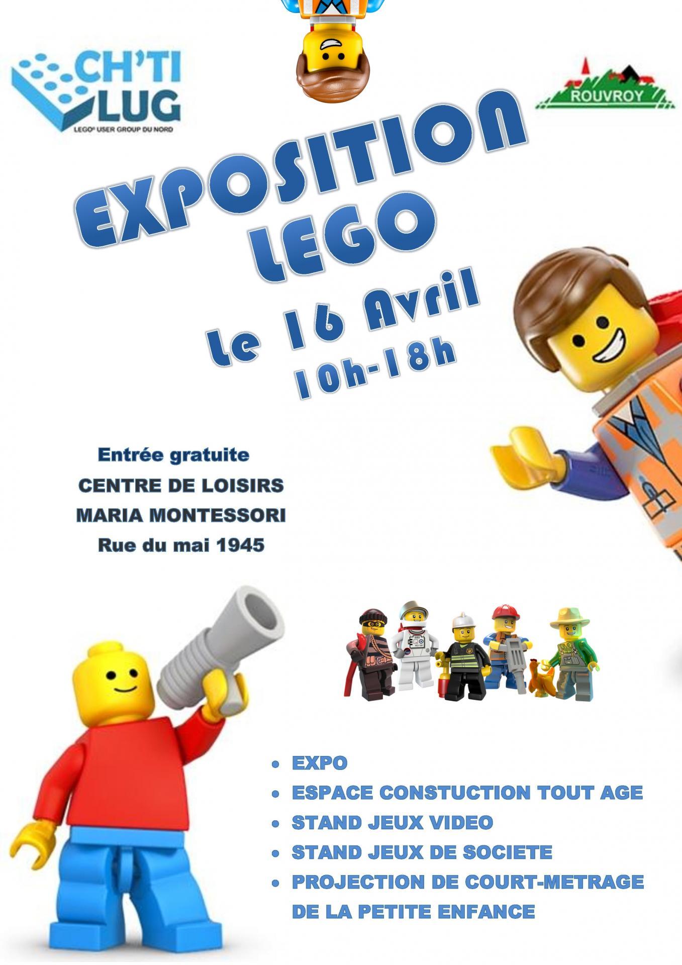 Affiche lego rouvroy