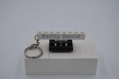 Porte clé 1x8 personnalisé